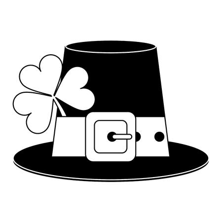 73d8f3540d9 Irish elf hat element vector illustration graphic design Illustration