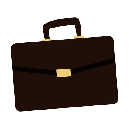 Busines briefcase isolated vector illustration graphic design