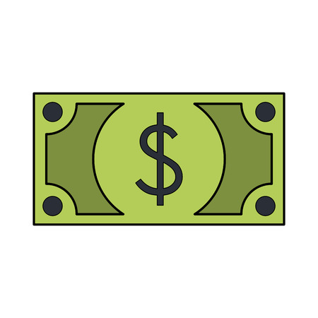 Billey money isolated vector illustration graphic design