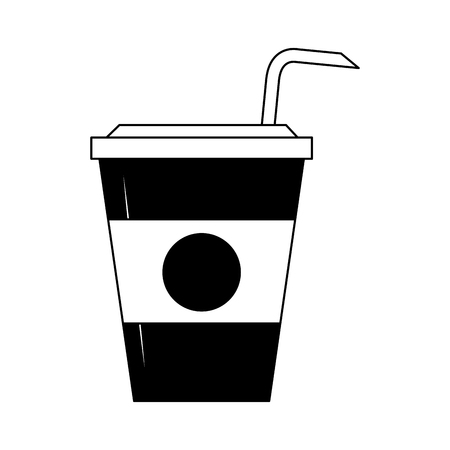 Coffee cup to go vector illustration graphic design