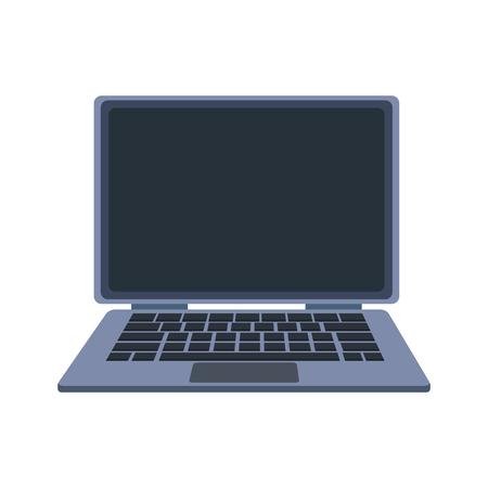 Laptop pc portable vector illustration graphic design