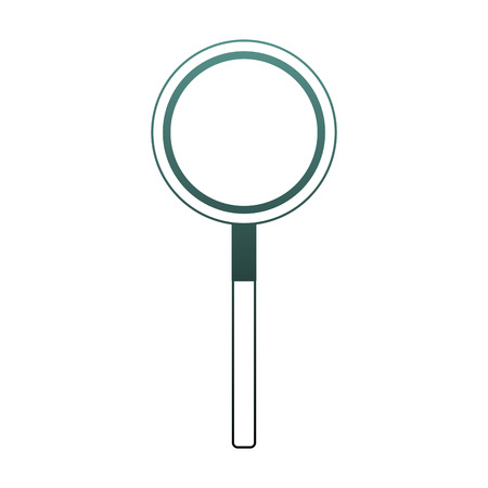 Magnifying glass symbol vector illustration graphic design 向量圖像