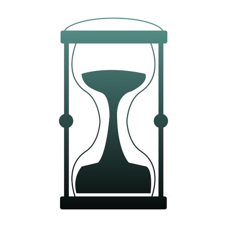 Hourglass antique symbol vector illustration graphic design
