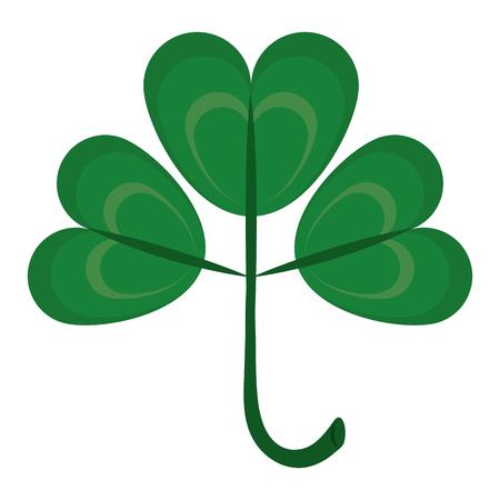 Clover irish symbol vector illustration graphic design