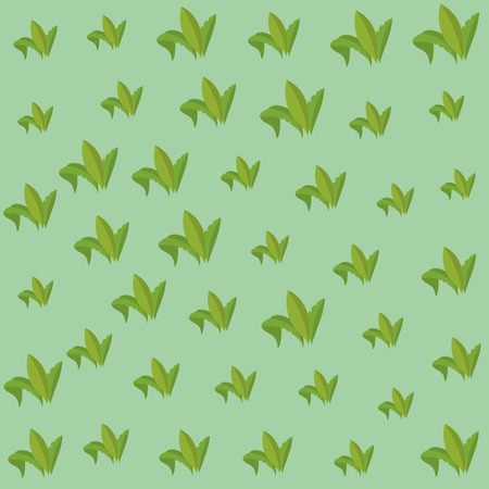 Leaves Pattern background vector illustration graphic design