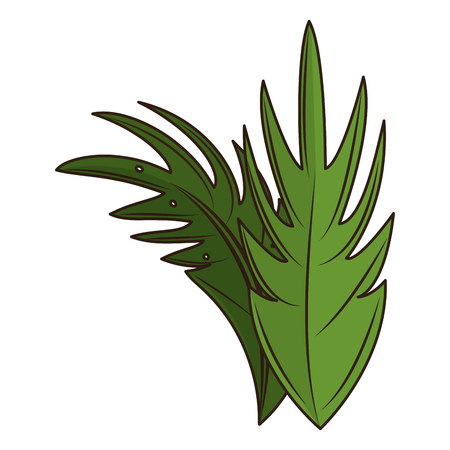 Palm sunday symbol vector illustration graphic design Illustration