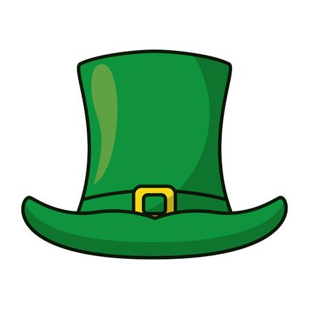 73c6bde80c2 Irish elf hat cartoon vector illustration graphic design Illustration