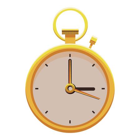 illustration vectorielle horloge design graphique Vecteurs