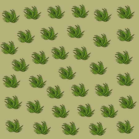 Leaves tropical background pattern cartoon vector illustration graphic design