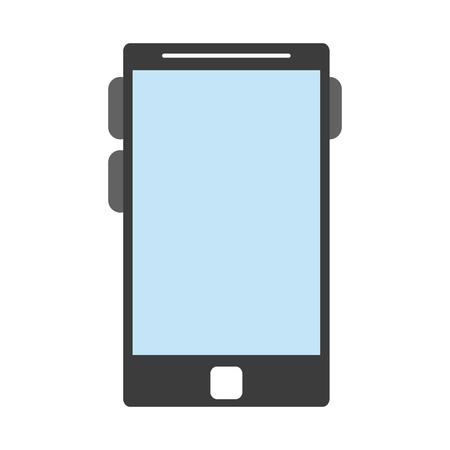 Smartphone mobile technology isolated vector illustration graphic design Ilustração