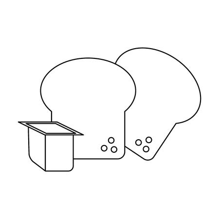 Eggs food isolated cartoon vector illustration graphic design