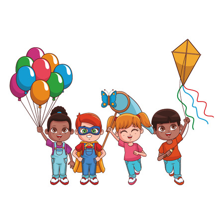 cute children cartoon vector illustration graphic design Illustration