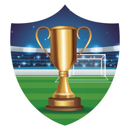 football sport cartoon vector illustration graphic design