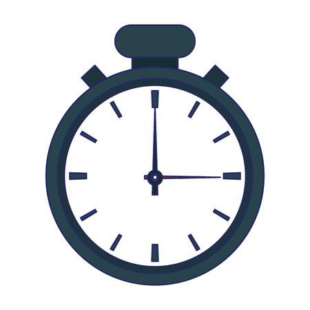 Timer clock symbol isolated vector illustration graphic design Иллюстрация