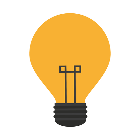 Bulb light symbol isolated vector illustration graphic design 矢量图像