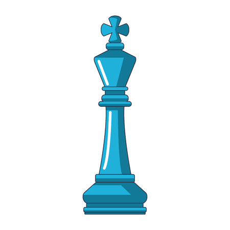 piece of chess cartoon vector illustration graphic design
