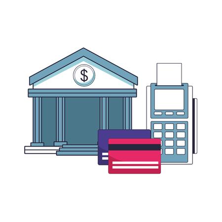 saving money element cartoon vector illustration graphic design Standard-Bild - 114237021