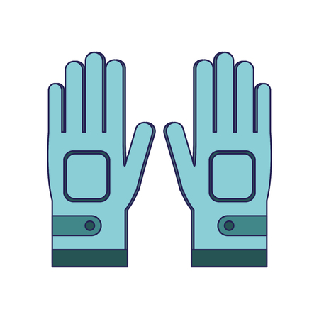 Golf gloves for players vector illustration graphic design vector illustration graphic design 矢量图像