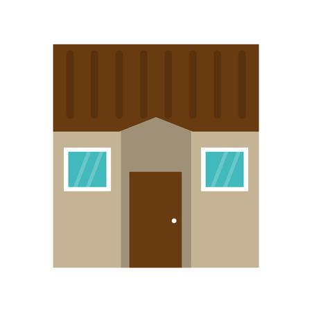 House real estate symbol vector illustration graphic design