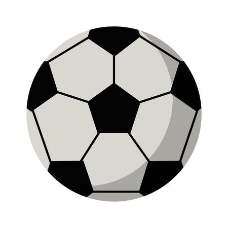 soccer sport ball isolated vector illustration graphic design Ilustrace