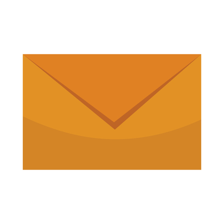 envelope isolated icon vector illustration graphic design Foto de archivo - 116074341