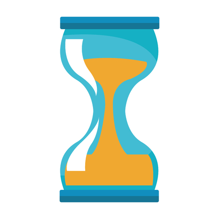 hourglass isolated icon vector illustration graphic design