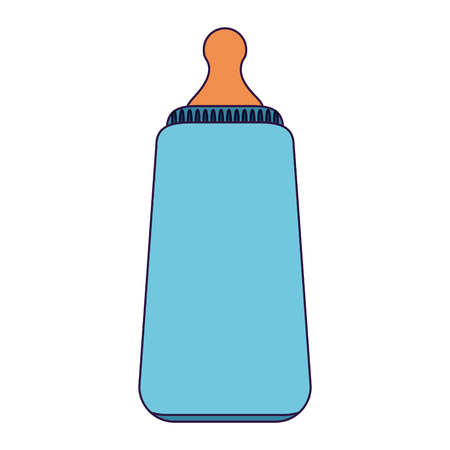 baby bottle symbol isolated vector illustration graphic design