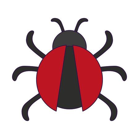 bug virus symbol isolated vector illustration graphic design