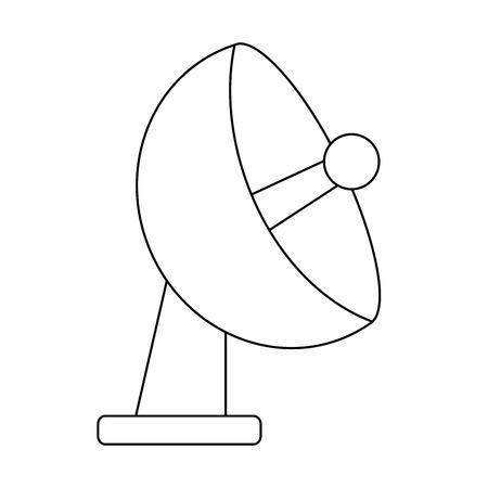 telecommunication antenna symbol isolated vector illustration graphic design Stock Vector - 116146496