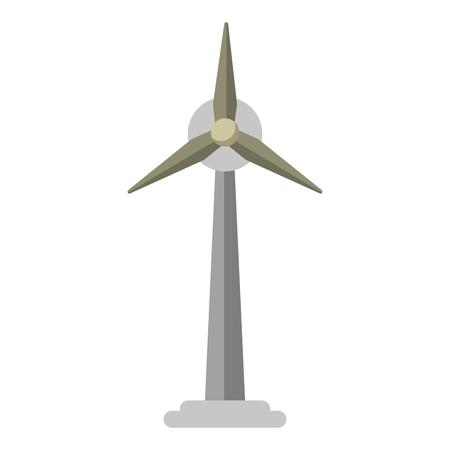 wind turbines symbol isolated vector illustration graphic design Illusztráció