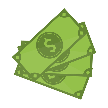 money cash cartoon symbol vector illustration graphic design Ilustração