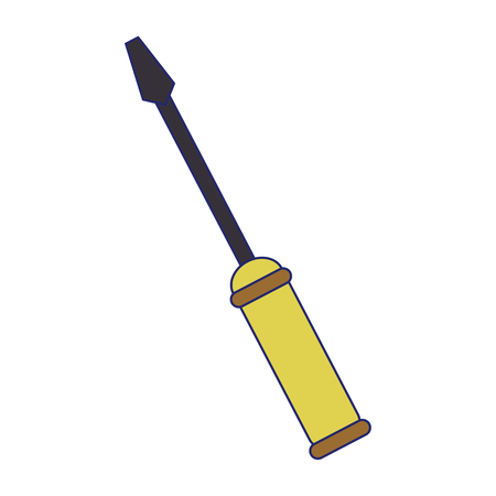 construction screwdriver symbol isolated vector illustration graphic design