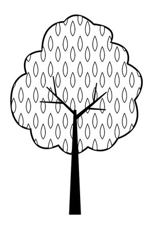 tree nature green vector illustration graphic design