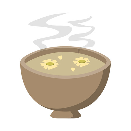 spa aromatherapy oil in bowl vector illustration graphic design