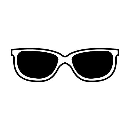 Fashion sunglasses isolated cartoon vector illustration graphic design Foto de archivo - 118223932