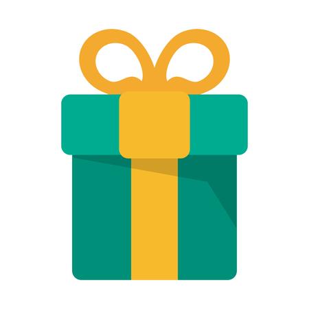 christmas gift box symbol vector illustration graphic design  イラスト・ベクター素材
