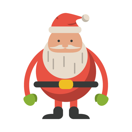 Santa claus cartoons isolated vector illustration graphic design Stockfoto - 124960325