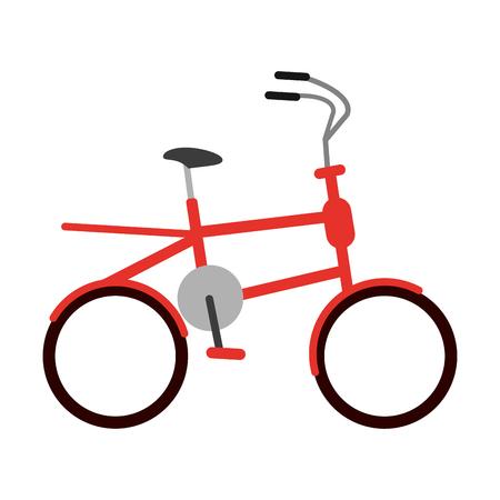 kids bicycle vehicle symbol vector illustration graphic design