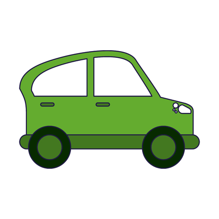 car vehicle symbol isolated vector illustration graphic design