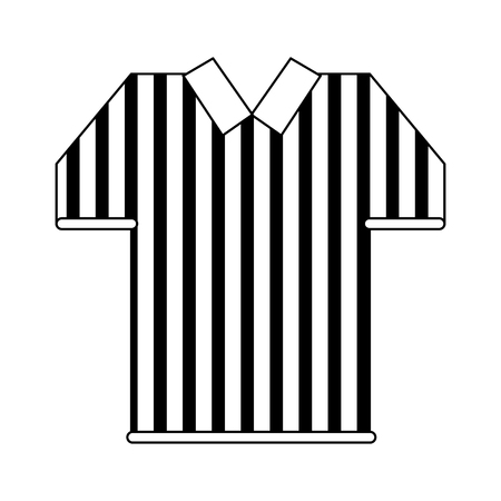referee tshirt wear symbol vector illustration graphic design Ilustrace