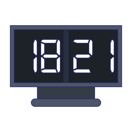 sport scoring digital device vector illustration graphic design