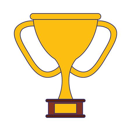 trophy cup award symbol vector illustration graphic design Reklamní fotografie - 124729779