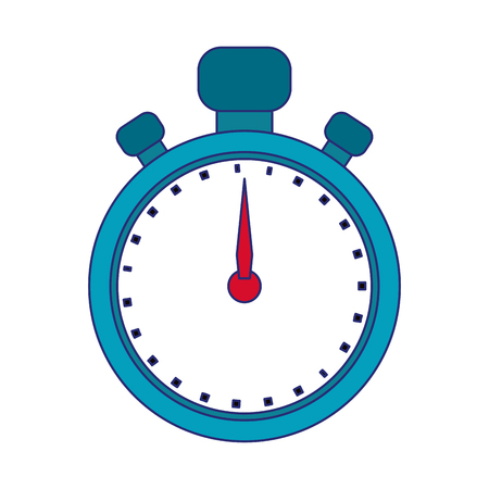 Sport timer clocksymbol isolated vector illustration graphic design Illustration