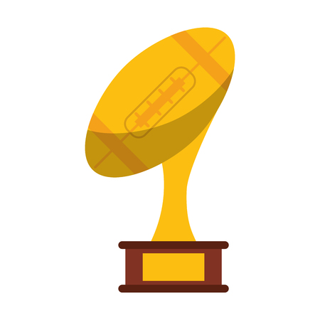 american football champonship game symbol vector illustration graphic design Illustration