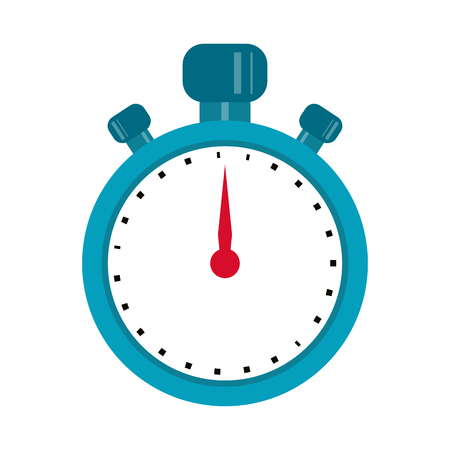 Sport timer clocksymbol isolated vector illustration graphic design Ilustrace