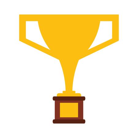 trophy cup award symbol vector illustration graphic design Reklamní fotografie - 124729837