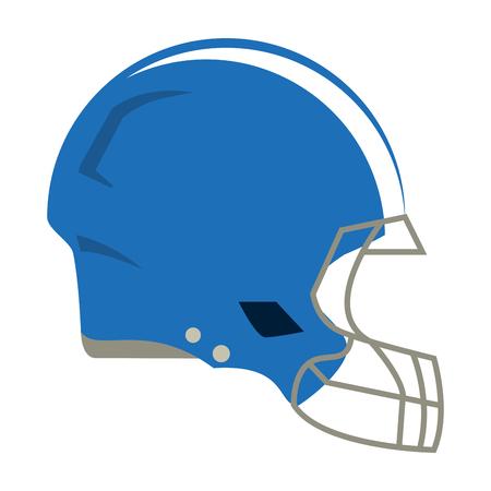american football helmet symbol vector illustration graphic design Ilustrace