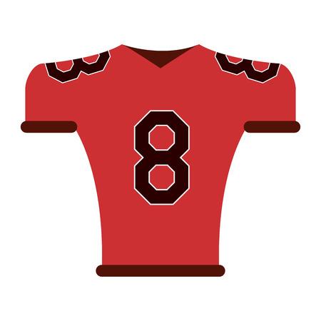 american football tshirt sport wear vector illustration graphic design