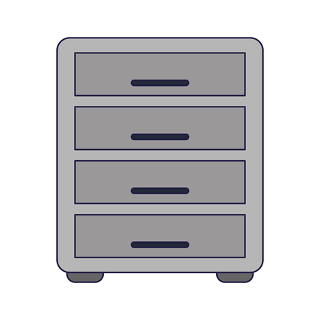 Office cabinet symbol isolated vector illustration graphic design  イラスト・ベクター素材