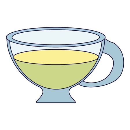 Tea lemon drink cup vector illustration graphic design Foto de archivo - 124732246